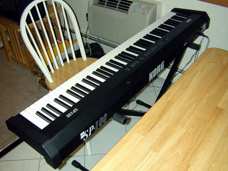 korg sp 100 digital piano. Black Bedroom Furniture Sets. Home Design Ideas
